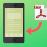 iPhone(iOS)のSafari(Chrome)で開いているページをPDF保存する方法